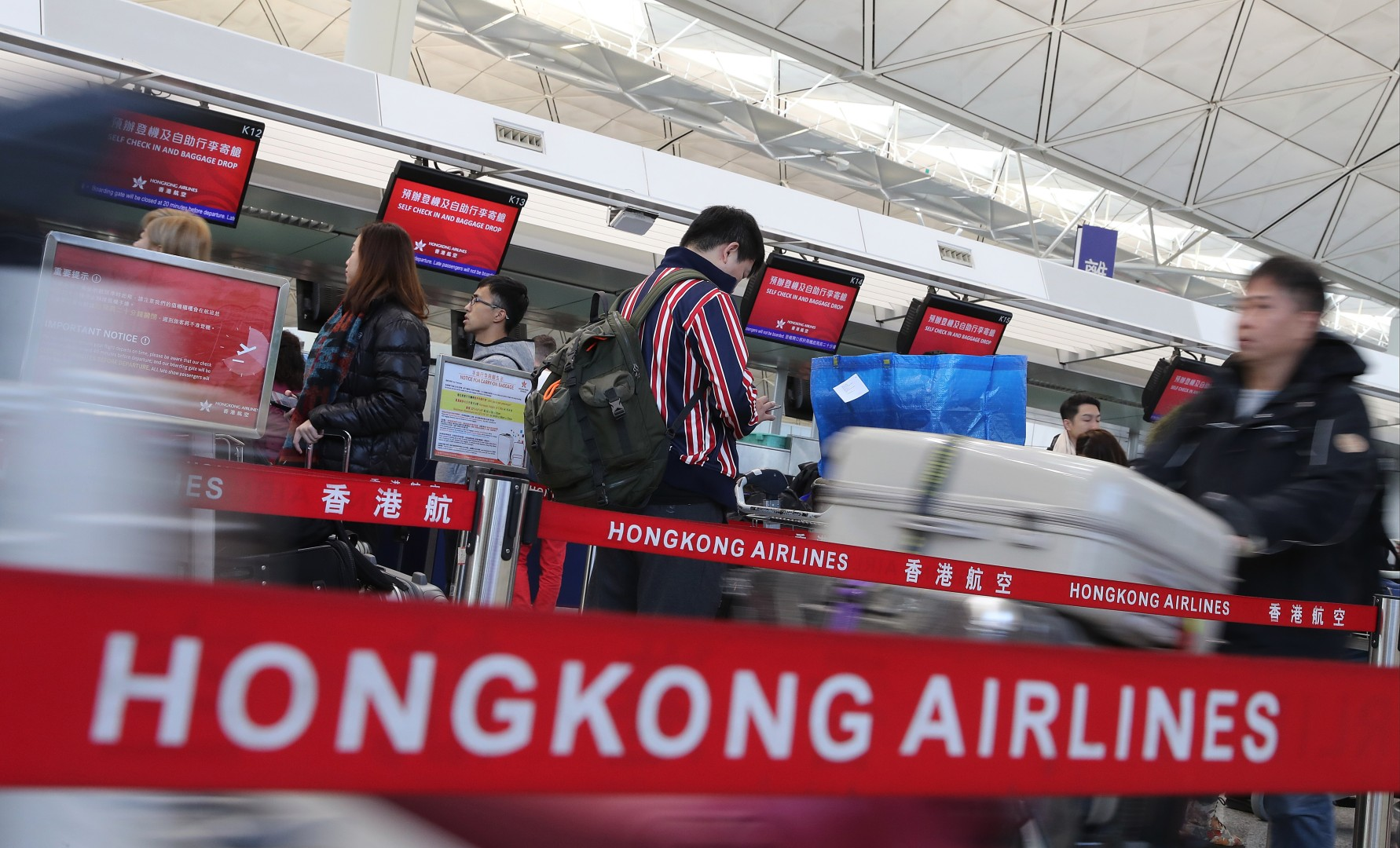 Struggling Hong Kong Airlines cancels more long-haul flights