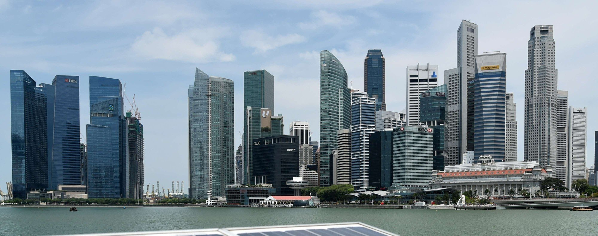 The skyscrapers of Singapore. Photo: AFP