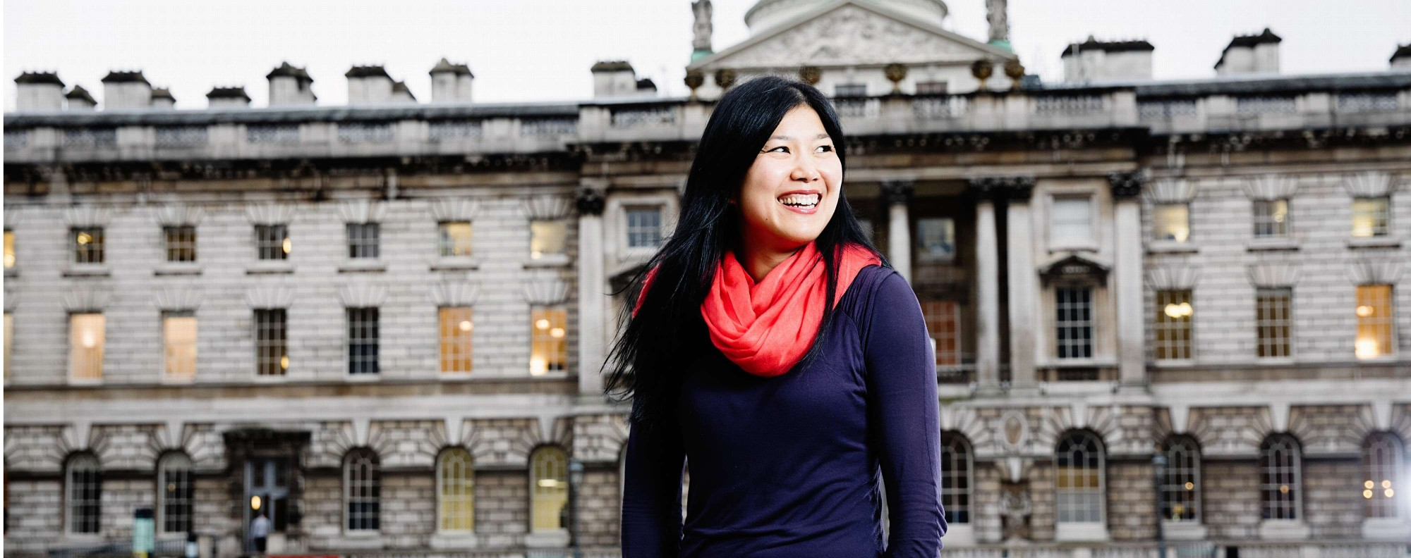 Yan Wang Preston at Somerset House, in London. Picture: Ki Price