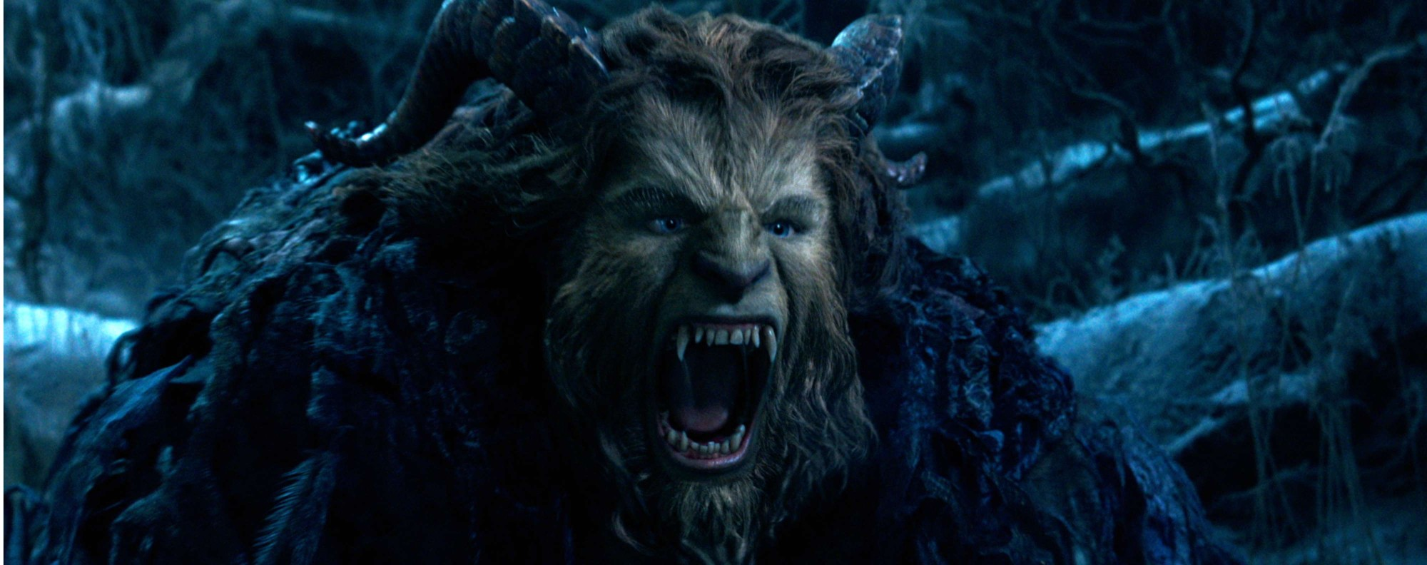 The Beast in 'Beauty and the Beast'. Photo: Disney