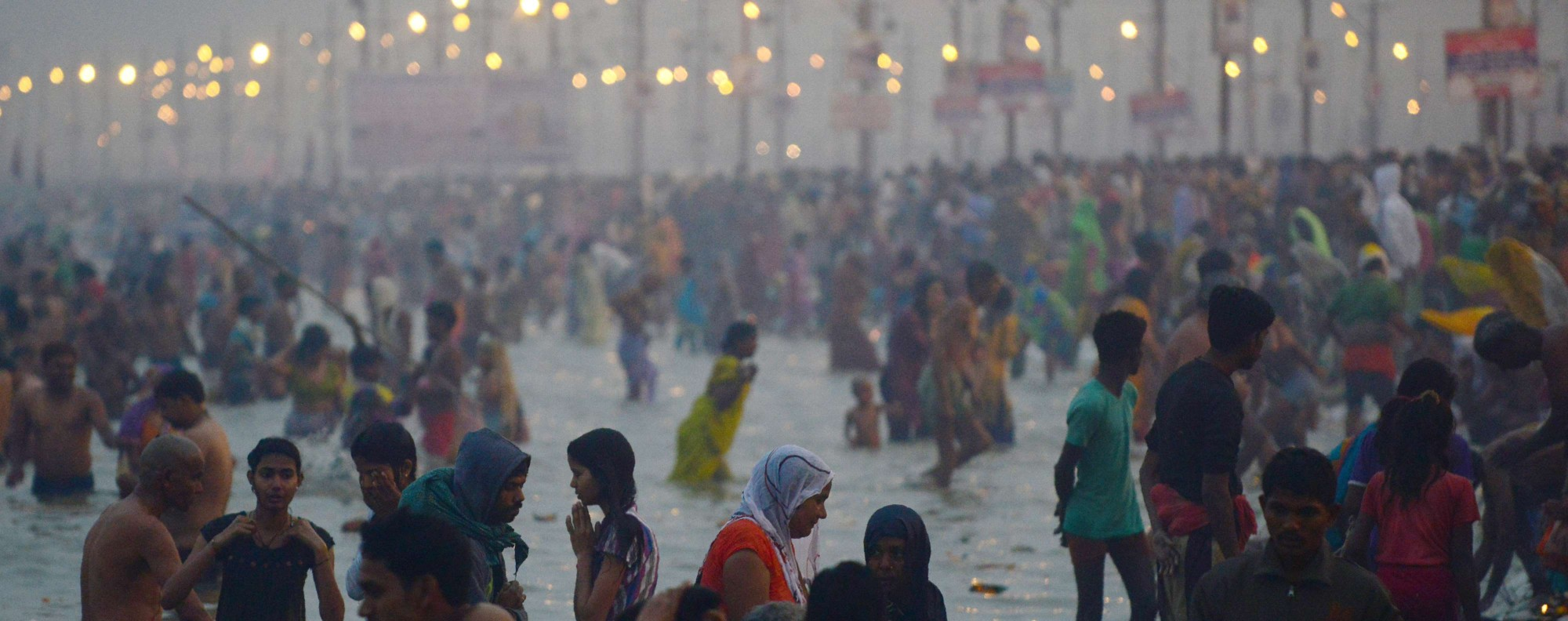 The Ganges. Photo: AFP