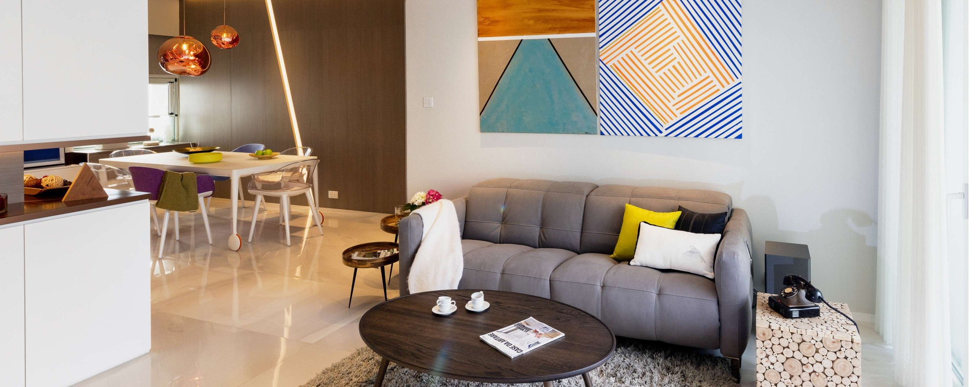 A dated Hong Kong apartment gets a contemporary makeover | Post ...