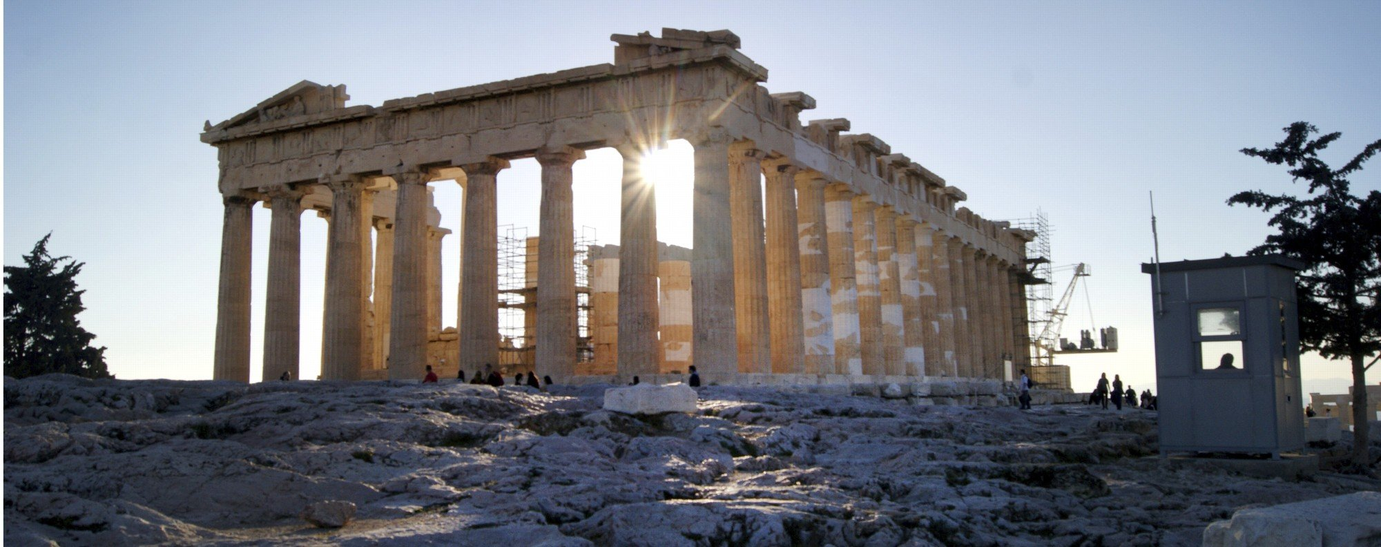 The Parthenon - built in nine years, under repair for the past 40-something years. Picture: AP