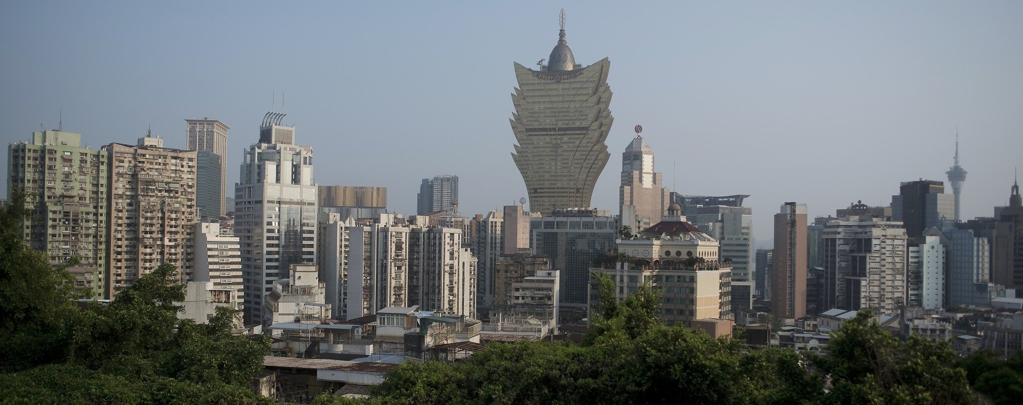 The Macau skyline. Photo: Xiaomei Chen
