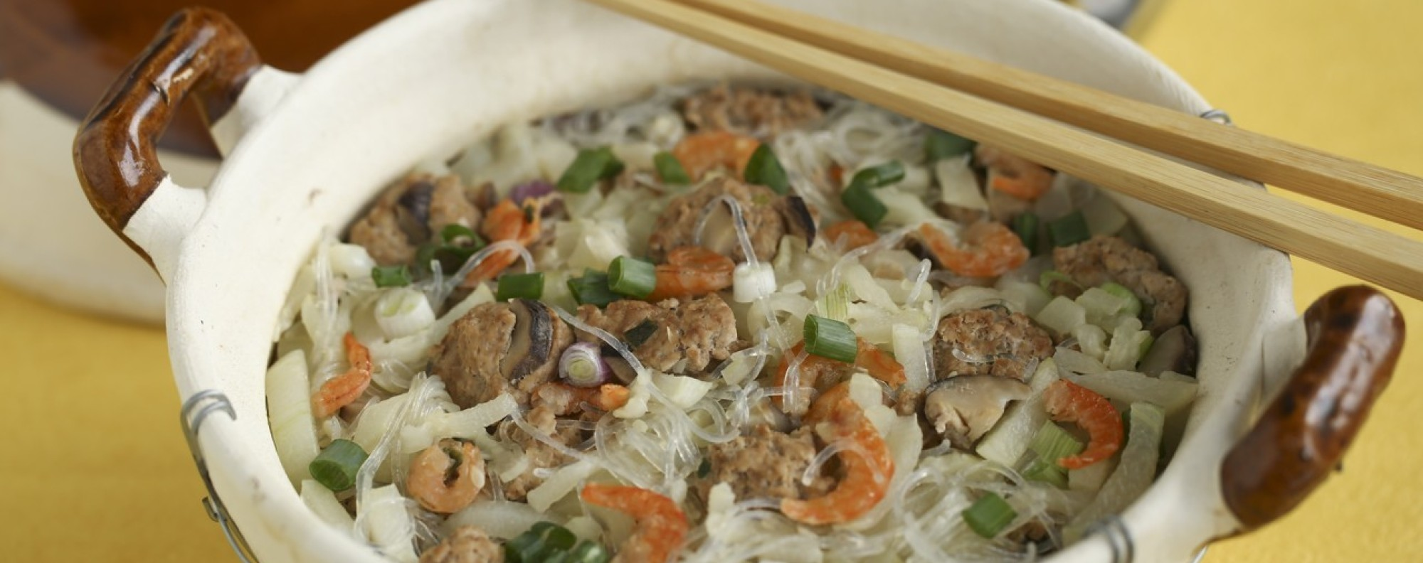 Susan jungs recipes for cooling melon dishes to beat the hong fuzzy melon with dried shrimp pork meatballs and glass noodles forumfinder Image collections