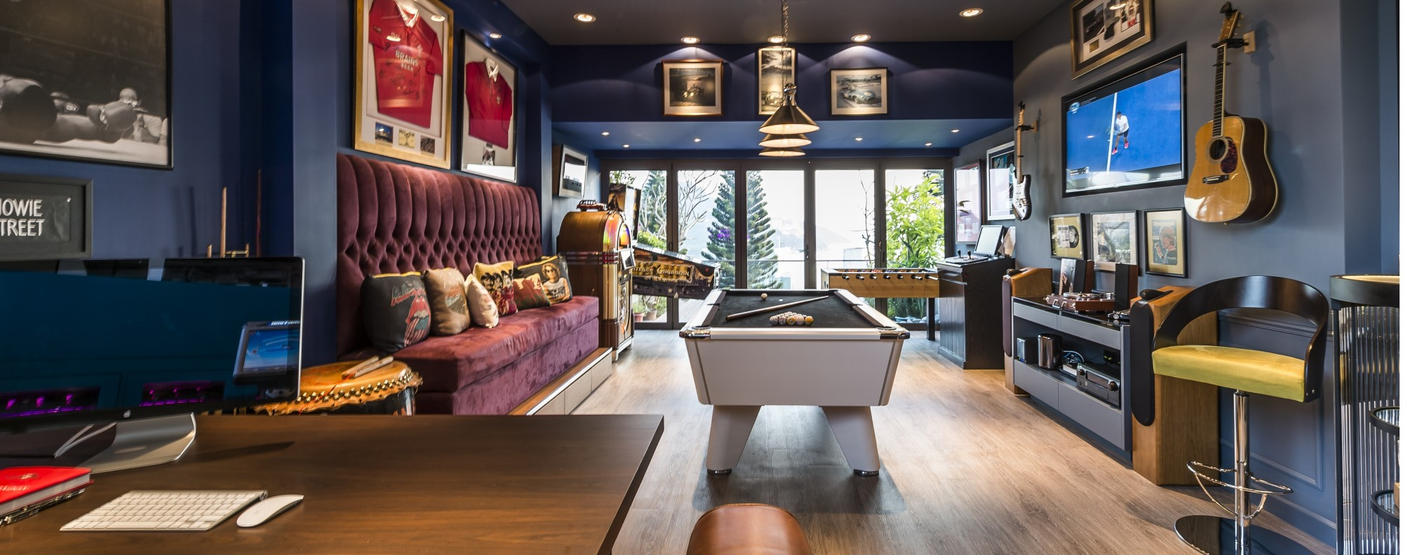 a hong kong house with an enviable games room post magazine