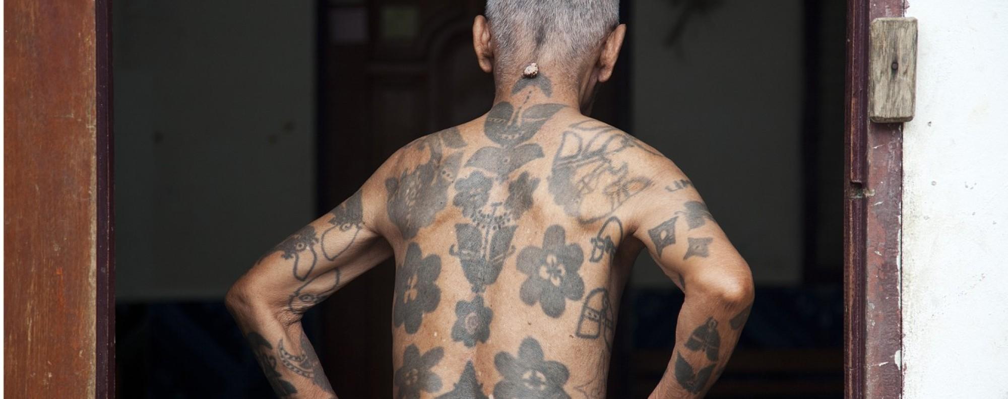 An Iban man, in Sarawak, Malaysian Borneo. Picture: Ore Huiying