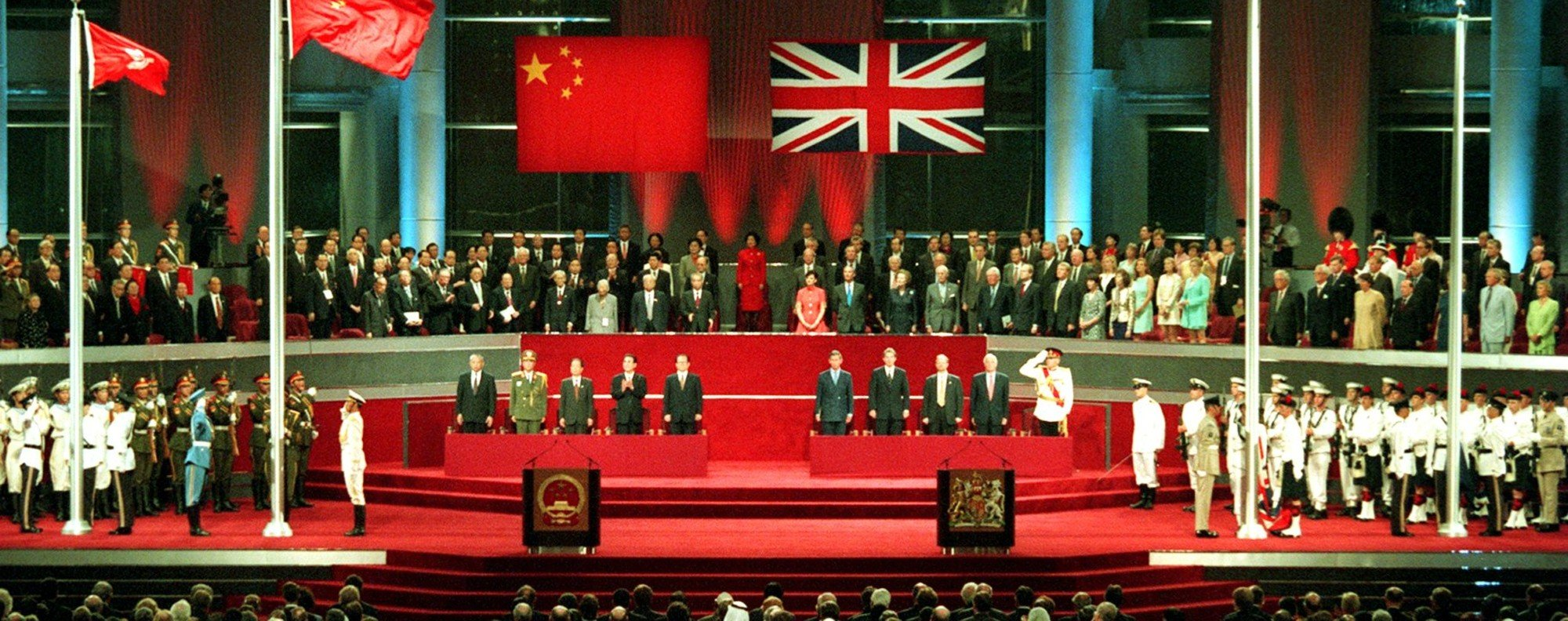 Image result for hong kong returned to china in 1997