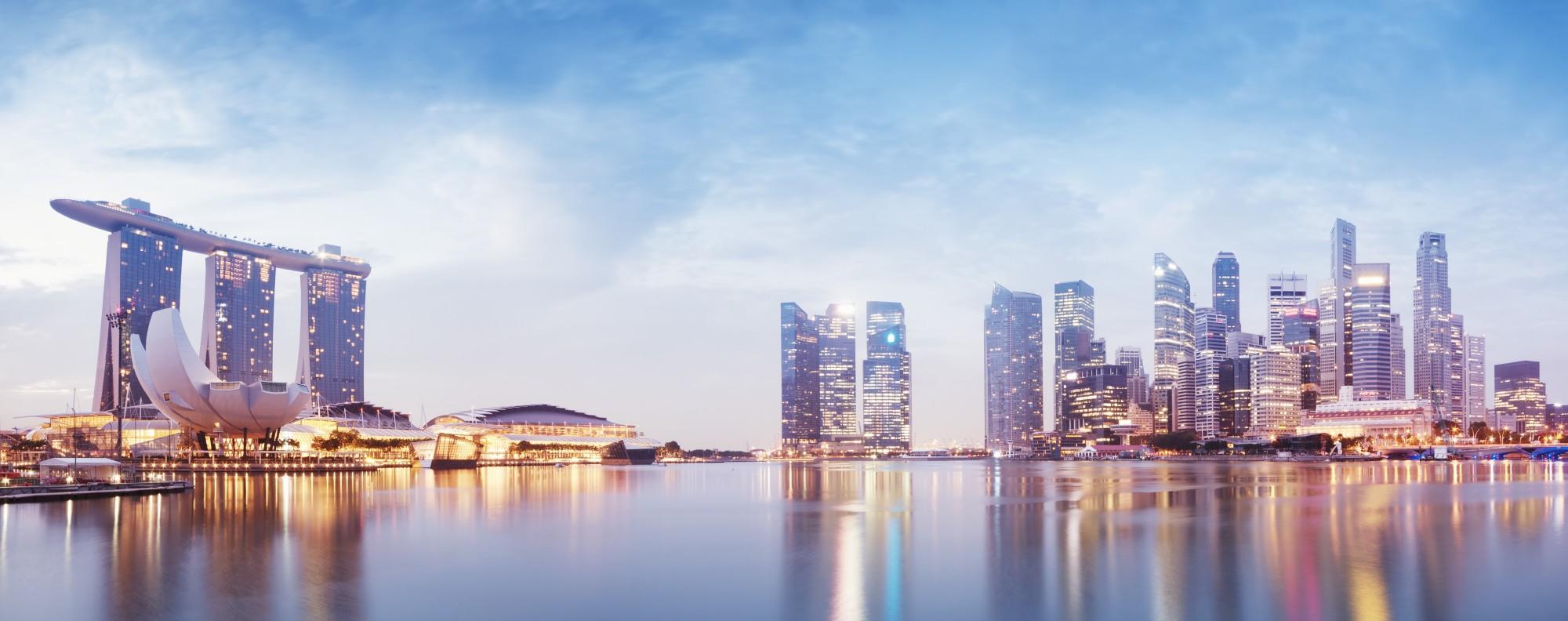 The Singapore skyline. Handout Photo