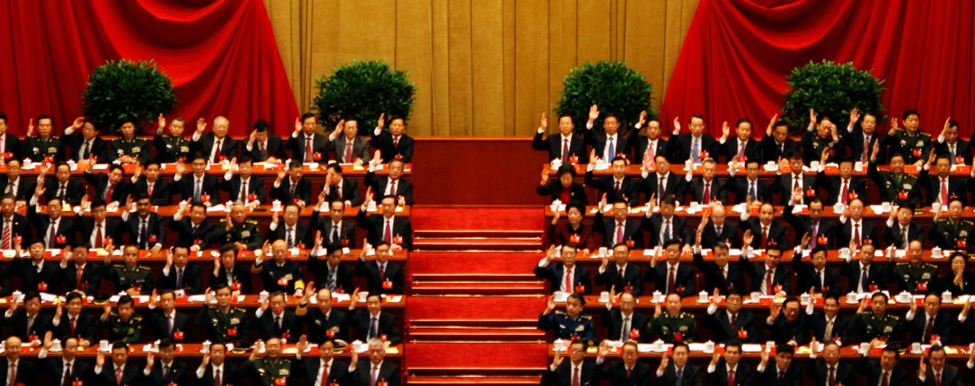 The Communist Party's 18th National Congress. Photo: Reuters