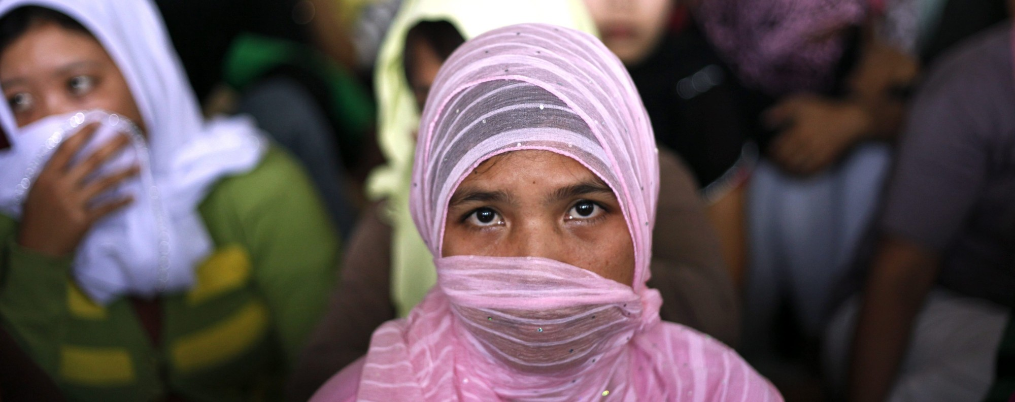 An Indonesian migrant worker. Photo: EPA