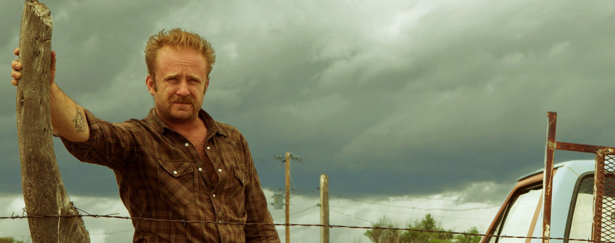 Ben Foster in Hell or High Water.