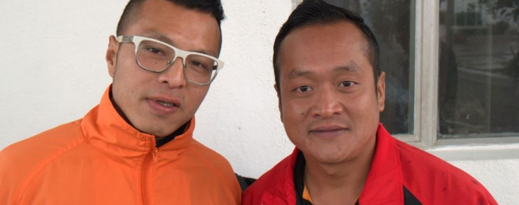 Allen Yuen (L) and Thapa Magar Ramu are running in the Gurkha Trailblazer this month. A feat they would have thought impossible when they were addicted to drugs. Photo: Mark Agnew