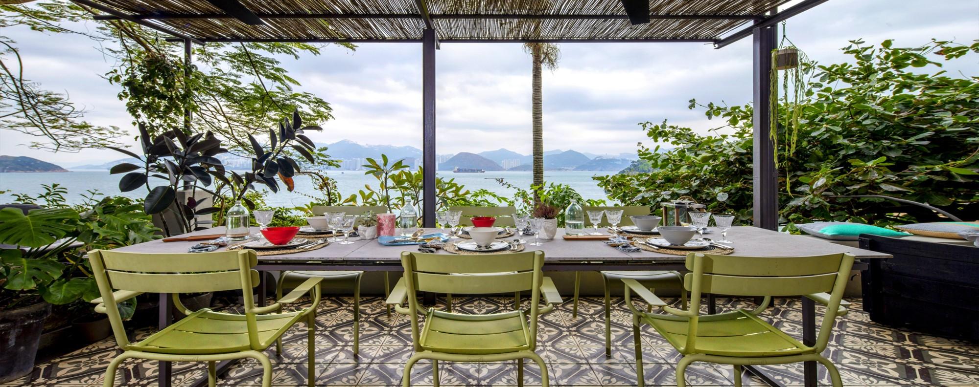 The Lamma Island home boasts incredible views.
