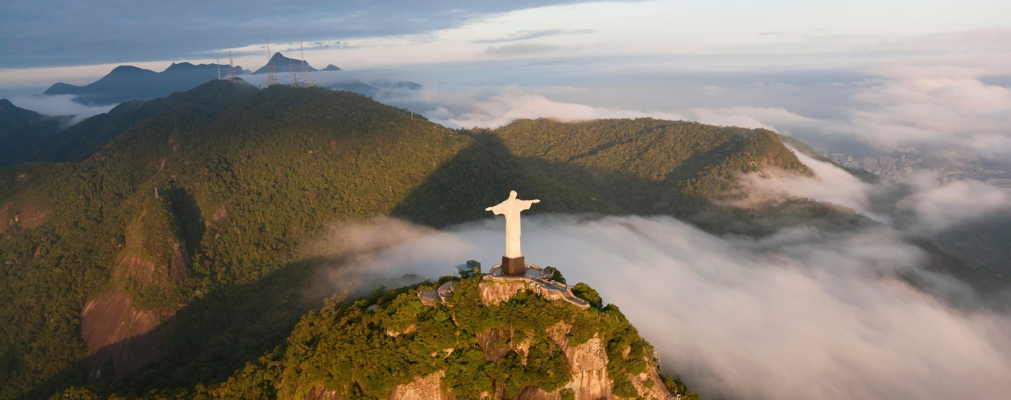 Christ the Redeemer in Rio de Janeiro, Brazil. Picture: Alamy
