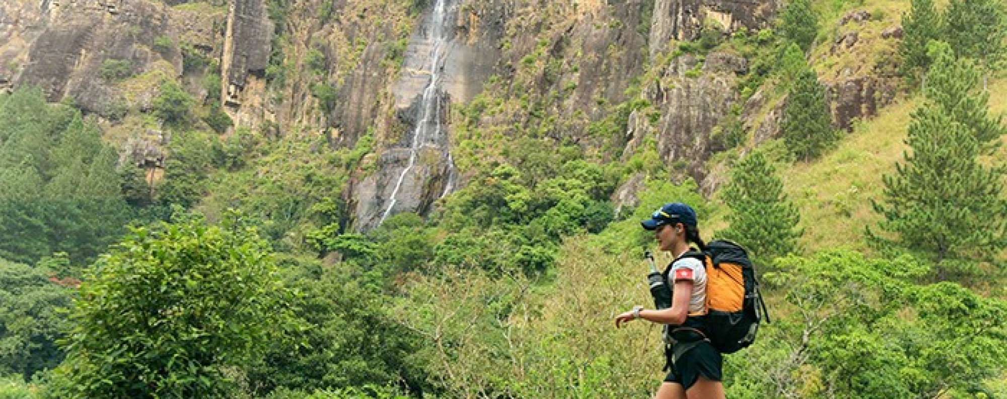 Sarah Pemberton runs the 4 Deserts Sri Lanka 250km stage race – she has ditched her training programme to rediscover her love of running. Photo: Myke Hermsmeyer