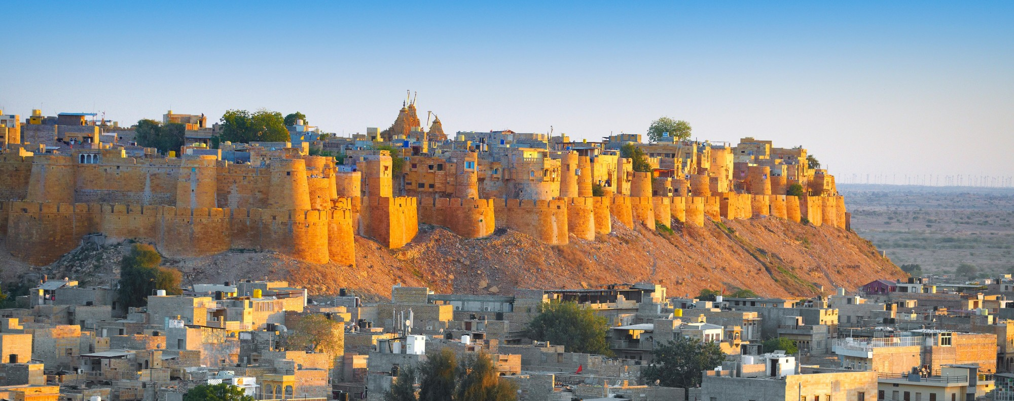 Jaisalmer Fort in Rajasthan, India. Picture: Alamy