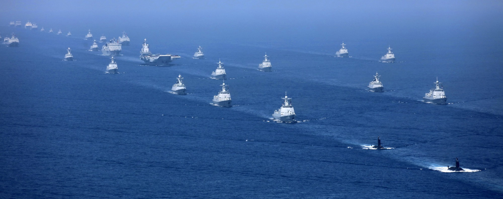 A PLA exercise in the South China Sea. Photo: AP