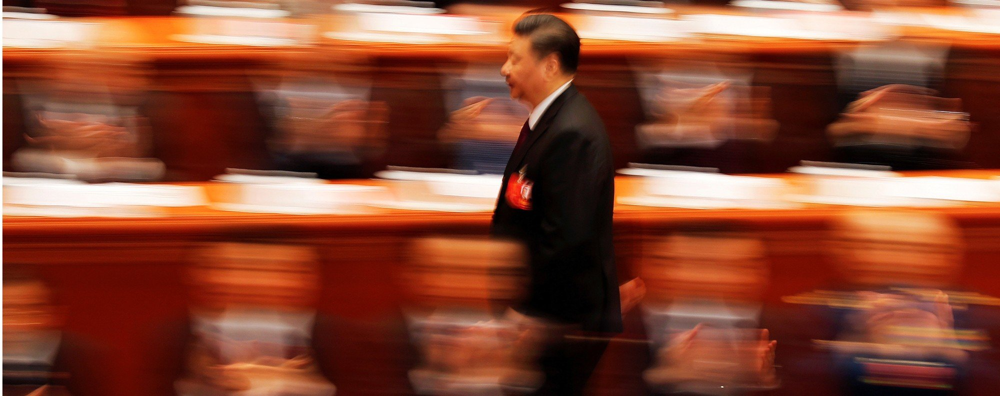 Chinese President Xi Jinping at the National People's Congress. Photo: Reuters