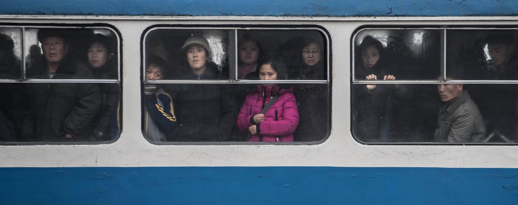 A tram in Pyongyang. Photo: AFP