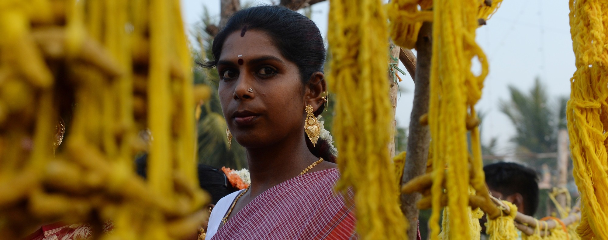 A transgender woman in Tamil Nadu. Photo: AFP