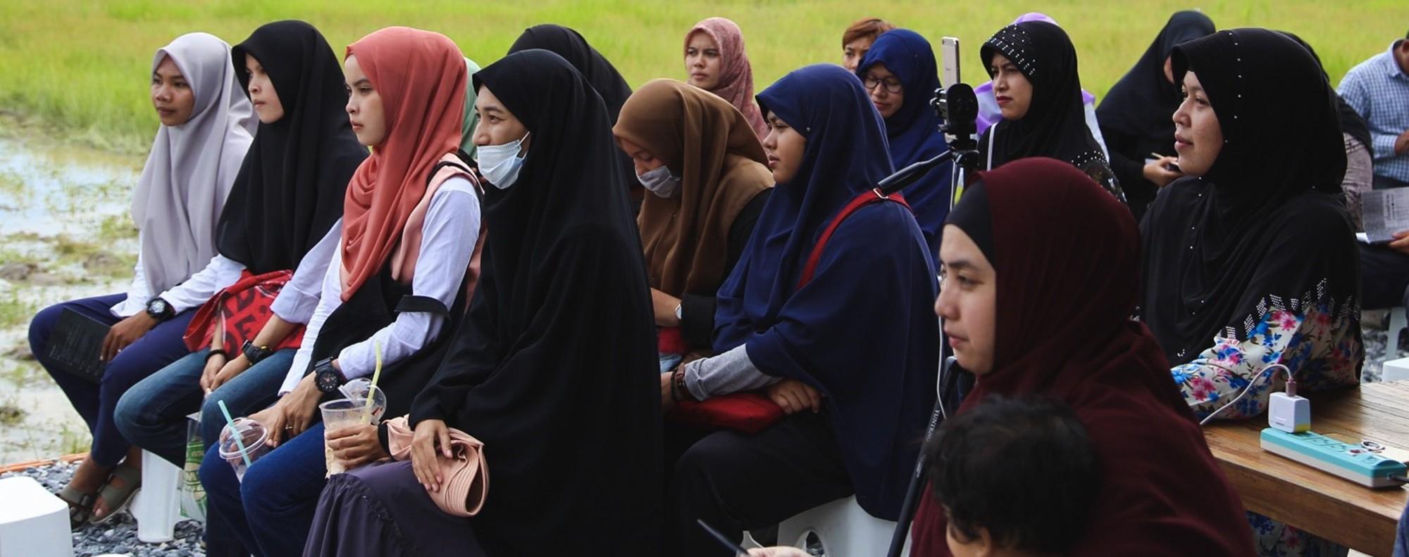 An audience attends an Ampannee Satoh's forum. Photo: Muhaimin E-taela