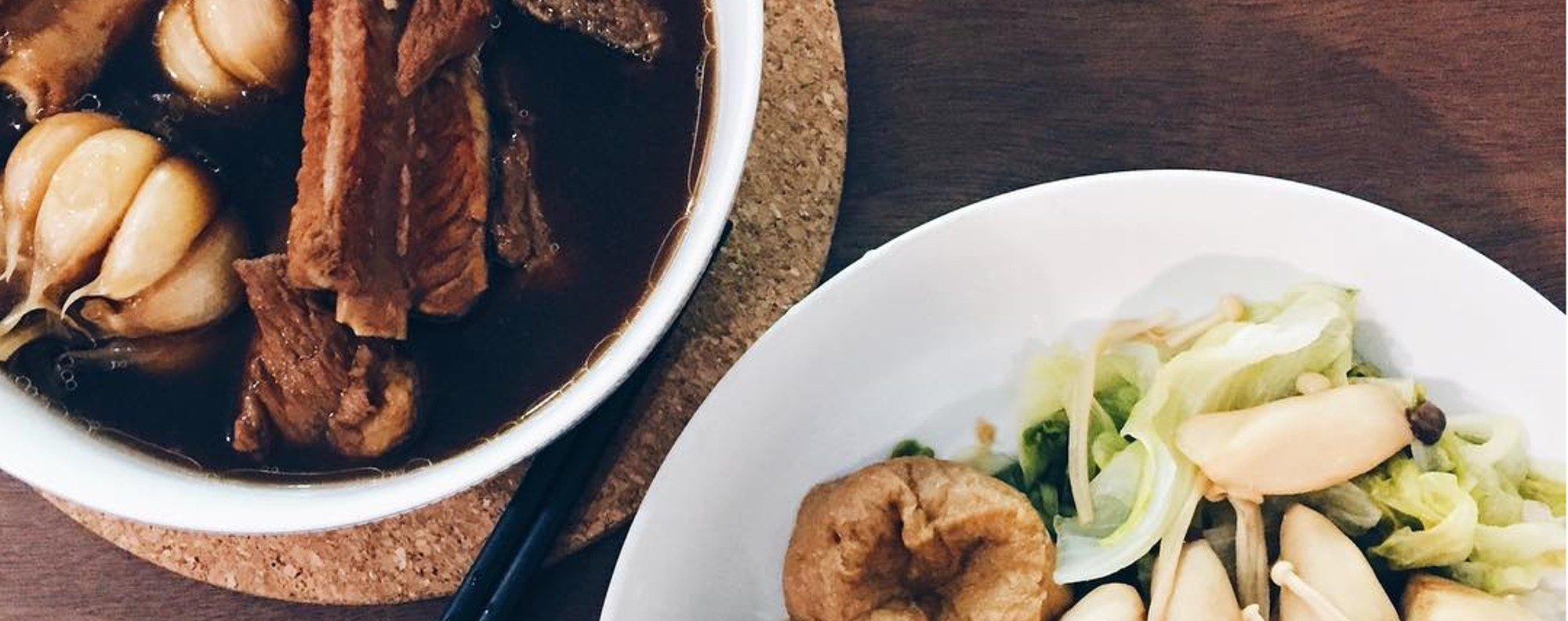 Is bak kut teh from Malaysia or Singapore? Photo: Instagram @ellicia.f