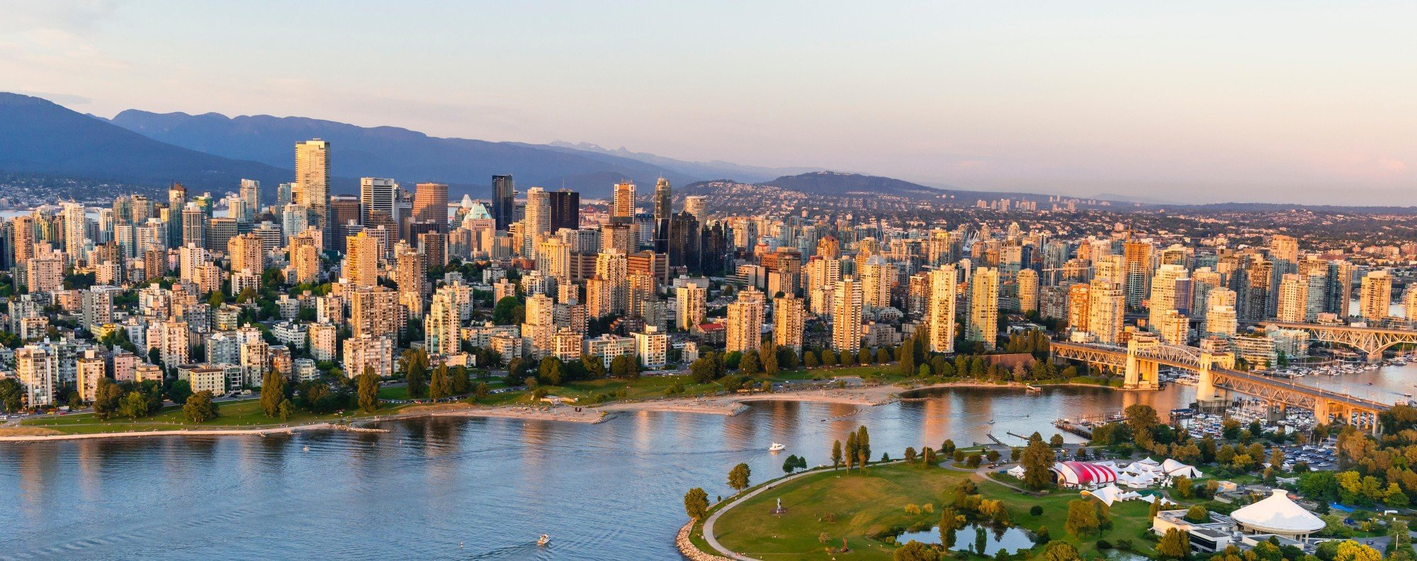 Vancouver seen from top of Grouse Mountain. Picture: Alamy
