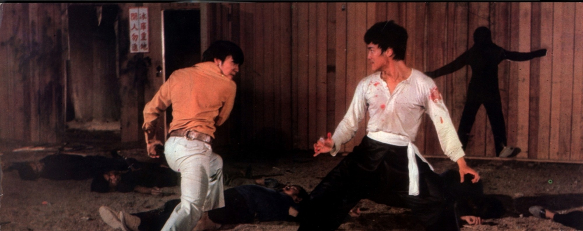 Bruce Lee (right) in The Big Boss (1971).