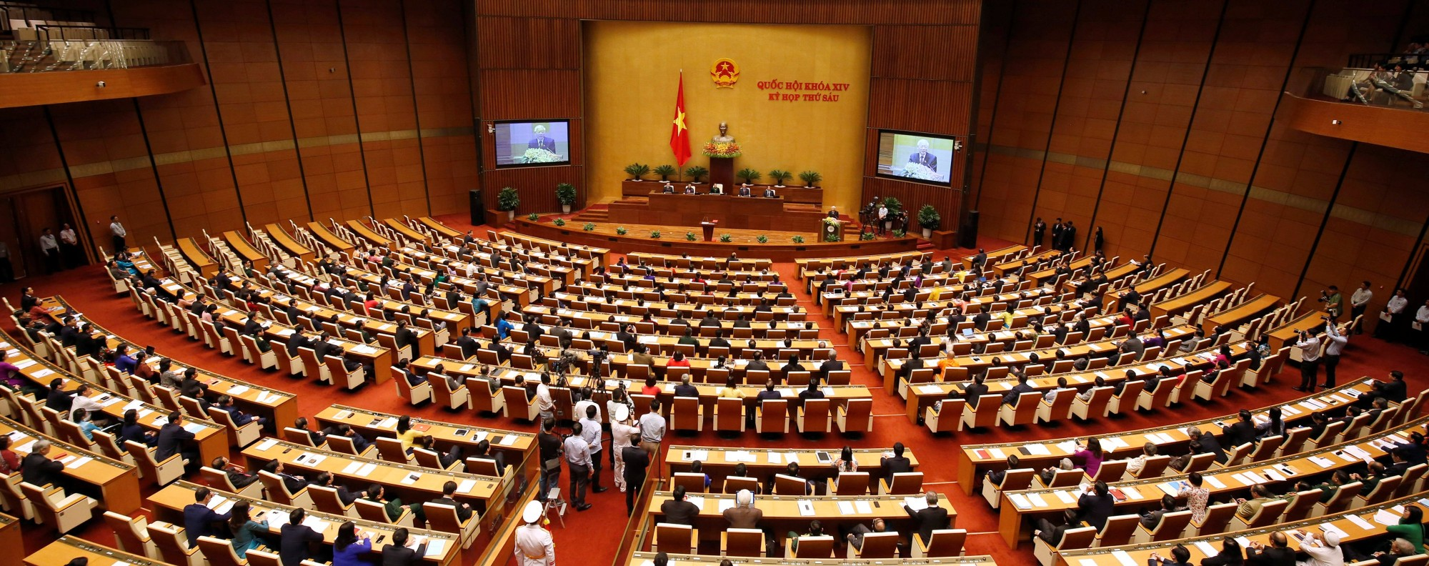 Vietnam's National Assembly. Photo: Reuters