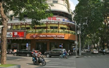 CORNER THE MARKET: Trung Nguyen is Vietnam's leading purveyor of coffee. Photos: Kate Whitehead