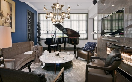 Hotel Style Glamour In A Five Bedroom Hong Kong Apartment