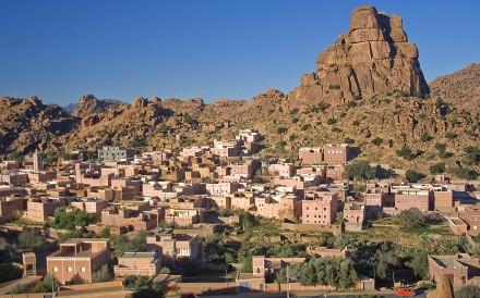 Aguerd Oudad village, Morocco.