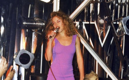 Kylie Minogue on stage at Canton Disco in 1988. (Click on photo to open gallery)