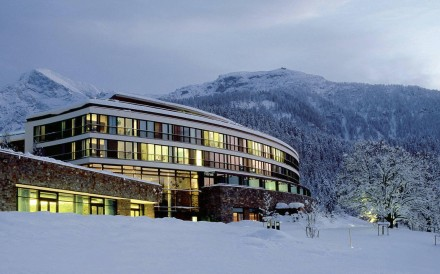 The Kempinski Hotel Berchtesgarden, built where Adolf Hitler's Alpine retreat once stood.
