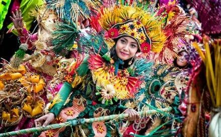 The colourful Parade through Macau, Latin City