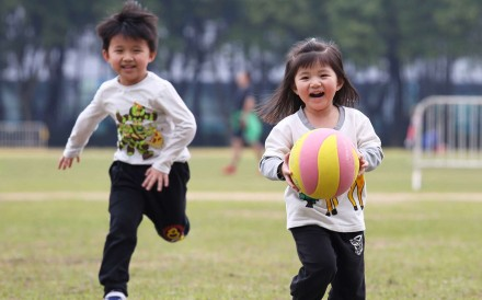 Patrick Ip, associate professor at the University of Hong Kong's department of paediatrics and adolescent medicine, says schoolchildren should be in the happiest phase of life. Photo: Nora Tam
