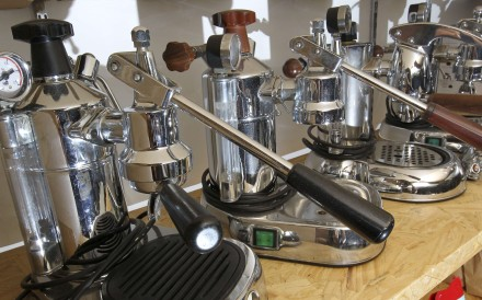 Coffee-making machines were once the sole preserve of restaurants. Photo: SCMP