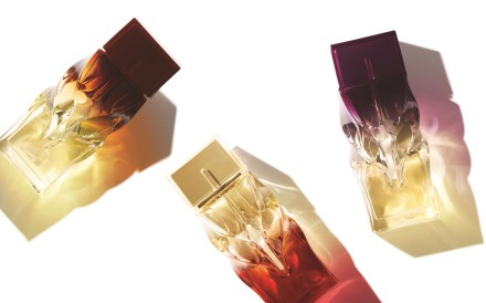 Christian Louboutin launches three women's fragrances.