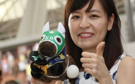 Racing fans at Sha Tin buy up all the Pakistan Star plush toys. Photos: Kenneth Chan