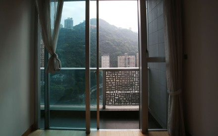The flats have a balcony. Jutting used his to keep the body of his first victim in a suitcase. Photo: Xiaomei Chen