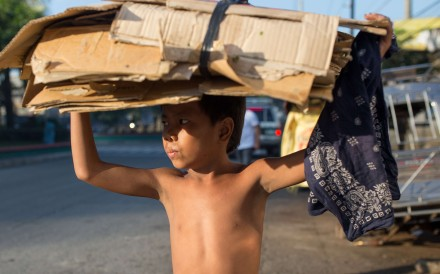 Children in Manila's poorest neighbourhoods are paying an especially heavy price for the anti-drugs campaign of the Philippine president, which has taken thousands of lives since he came to power. Photographs by Paul Ratje