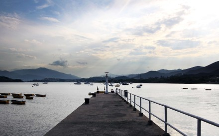 Designed to fix the territory's dire water shortage, the scheme to turn a sea inlet into a reservoir was described by the SCMP as one of the world's major engineering feats