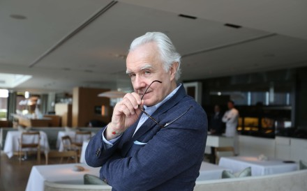 Alain Ducasse at Rech at the InterContinental in Tsim Sha Tsui. Photo: Xiaomei Chen