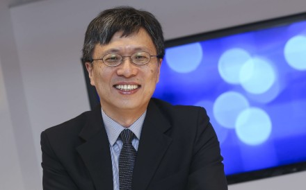 Harry Shum Heung-yeung, executive vice-president of Microsoft's artificial intelligence and research group, says AI is the 'greatest business opportunity of our time'. Photo: K. Y. Cheng