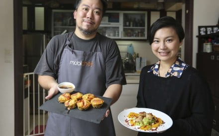 Mobichef founder Fanny Suen's website can hook you up with a personal chef who will come to your home and prepare a range of dishes, from Egyptian to Sichuan – and, best of all, clean up your kitchen afterwards