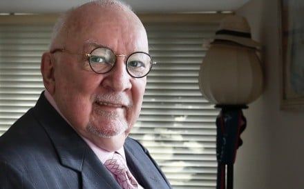 Kerry McGlynn, who entered Hong Kong government service in 1974 and was spokesman for the last colonial governor, Chris Patten. Picture: Jonathan Wong