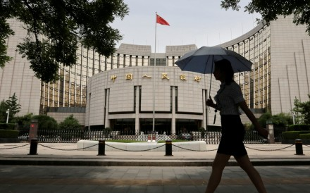 The People's Bank of China (PBOC) has been squeezing interbank liquidity and has pushed for economic deleveraging. Photo: Reuters