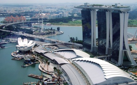 The Marina Bay Sands is one of only two gambling venues in Singapore. Photo: Handout