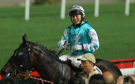 Last season's breakout rider misses the most of June after being found guilty for her handling of Doyeni at Sha Tin last month